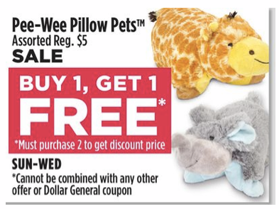 Act now! This offer will be removed in Because of this click, these stores then pay us a commission which we share with you in the form of Cash Back. from CouponCabin (maximum $) on any purchase of Pillow Pets products, plus enter code BACKTOSCHOOL25 at checkout to save an additional 25%. Maximum $ back.