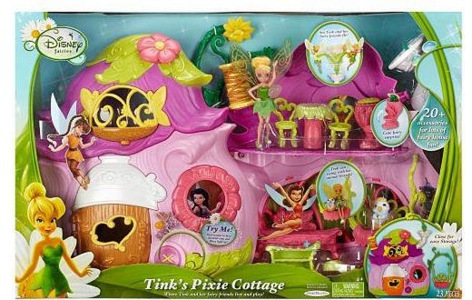 Target: *HOT* Disney Fairies Tink's Pixie Cottage ONLY $17.99 (Reg. $90?!)