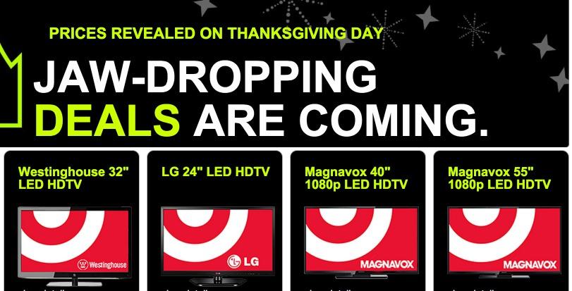 Target Black Friday Surprise Doorbusters!