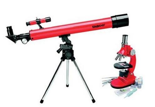 *HOT* Tasco Refractor Telescope and Microscope Combo ONLY $20 (Reg. $40!)
