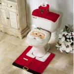 Santa Toilet Seat Cover and Rug Set Only $3.85 Shipped (Reg. $29.99)
