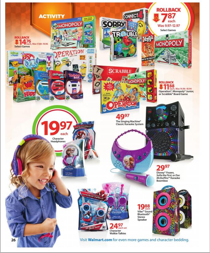 Walmart Top Toys 2014 : Walmart top toys wish list book raining hot coupons
