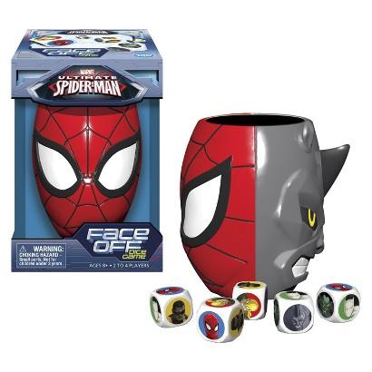15611232 Target: Marvel Ultimate Spider Man Face Off Dice Game Only $4.79
