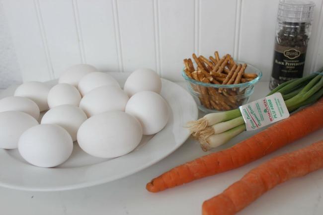 21 Boiled Egg Snowmen