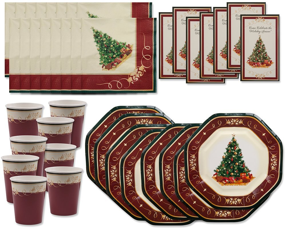 71FRuvREmiL. SL1000  Amazon: Beautiful Christmas Tree Party Pack (40 Pc) Only $6.95 (Reg. $29.95)
