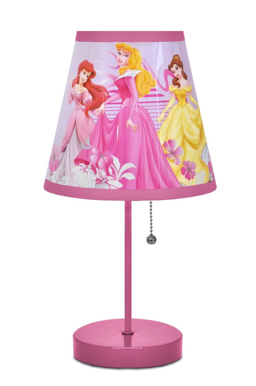 Disney Table Lamp : Amazon disney princess table lamp only reg