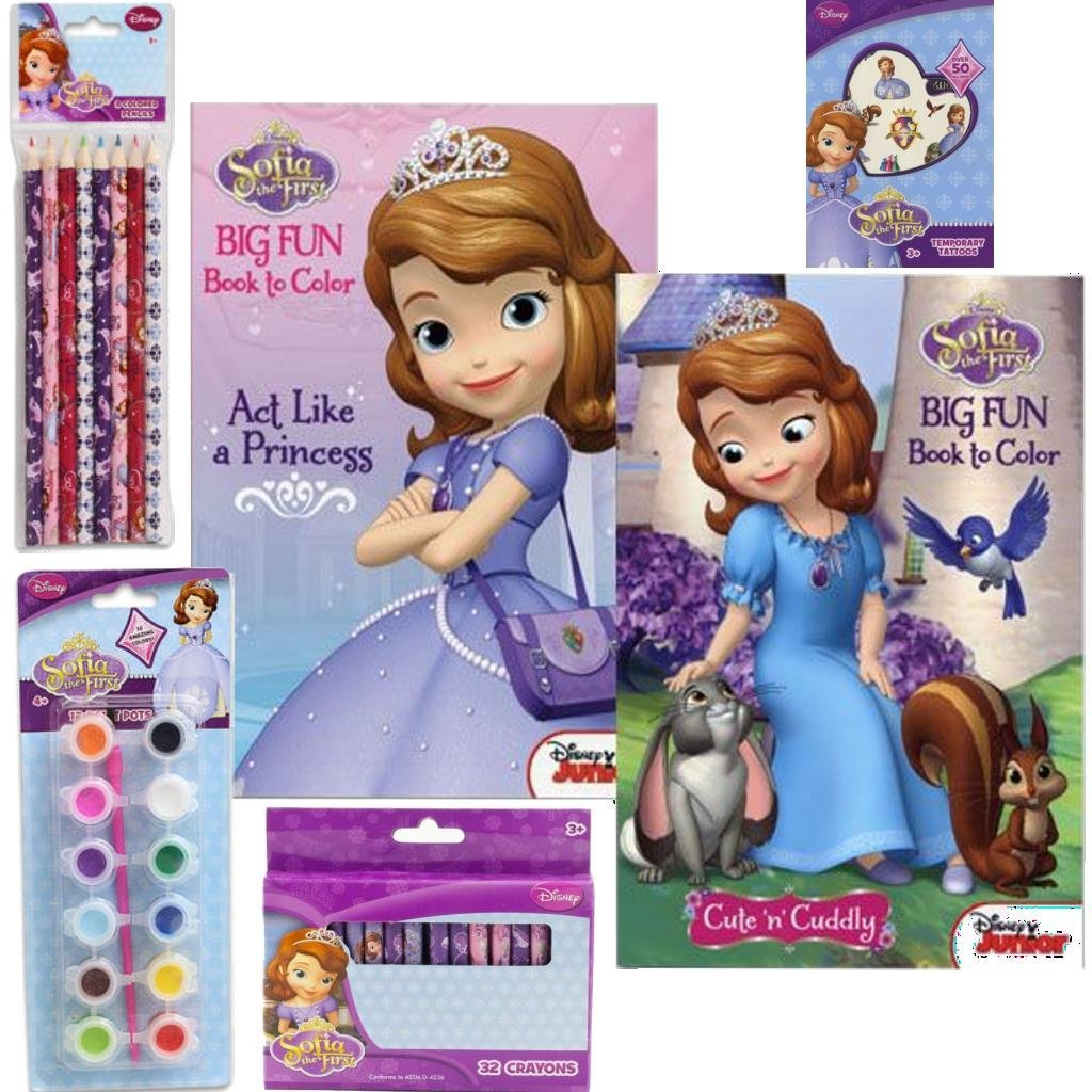 Amazon Disney Jr Sofia The First Ultimate Coloring Book Holiday