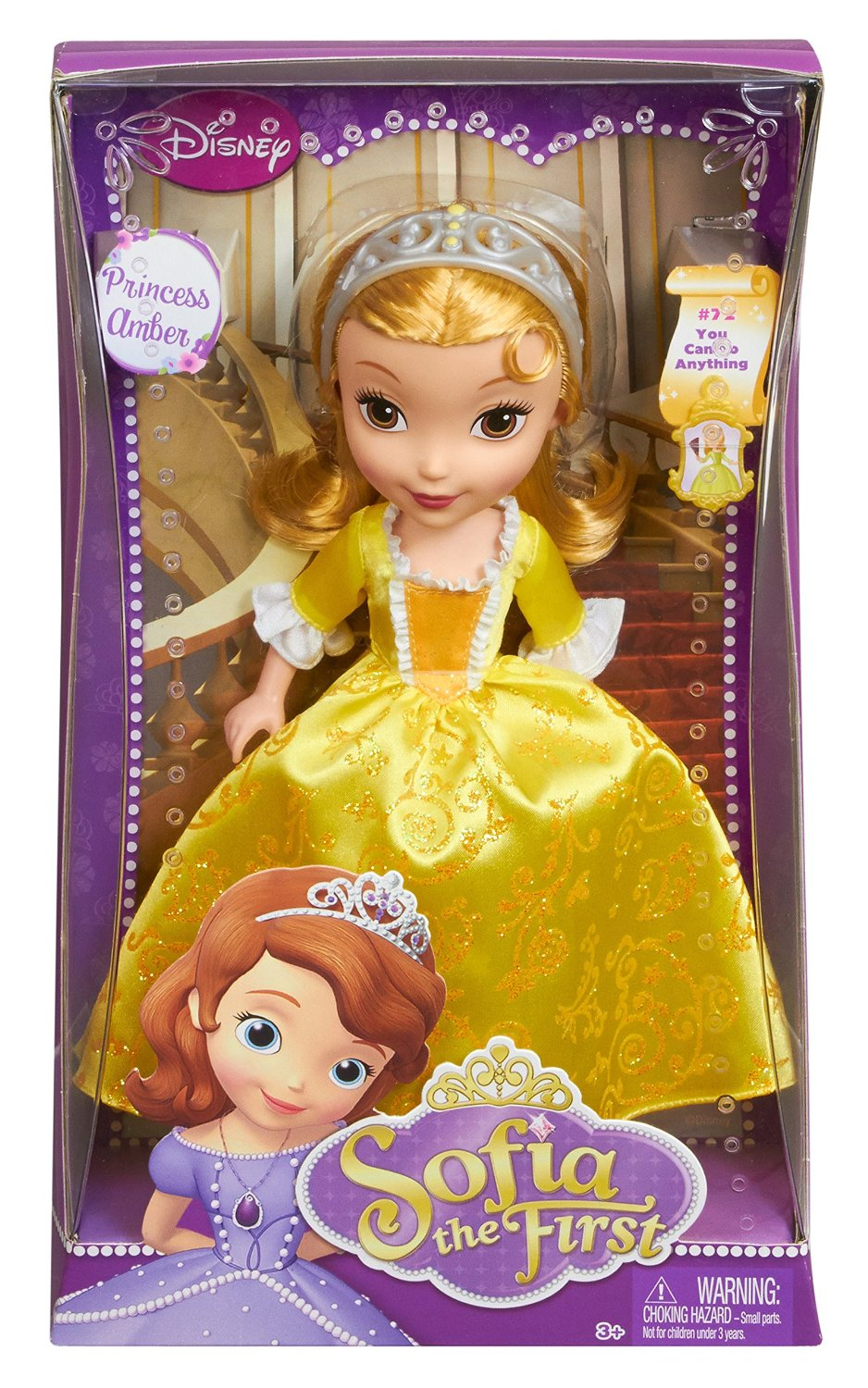 91jWmhbiuXL. SL1500  Amazon: Disney Sofia The First 10 Amber Doll Only $11.51 Shipped (Reg. $19.99)