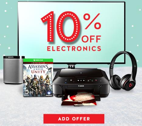 Target coupon code electronics