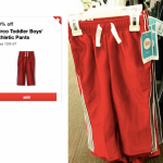 *HOT* Target: Circo Toddler Athletic Boys' Pants ONLY $2.80!