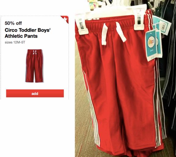 CIRCO *HOT* Target: Circo Toddler Athletic Boys' Pants ONLY $2.80!