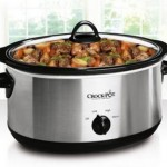 *HOT* Crock-Pot 5 qt Manual Slow Cooker, Stainless Steel ONLY $9.77!