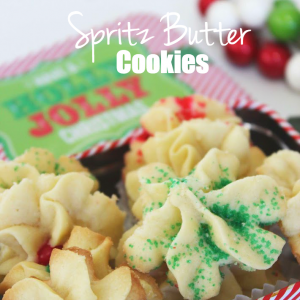 SPRITZ BUTTER COOKIES
