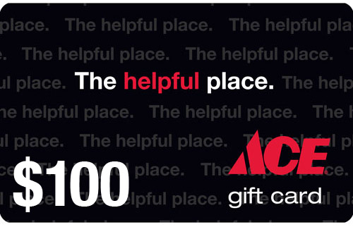 ace Giveaway: 1 Reader Wins a $100 Ace Hardware Gift Card + 3% Cash Back and MUCH MORE!