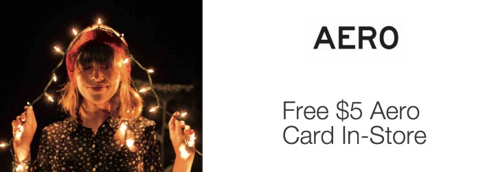 *HOT* FREE $5 P.S by Aeropostale Card = FREE ITEMS!