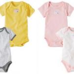 Burt's Bees Baby Organic Bee Essentials Bodysuits ONLY $2.60 each!