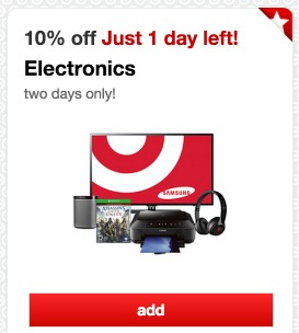 Shop Target Home items and save up to 30% plus use this Target promo code at checkout to take an extra 15% off Rugs.