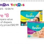 FREE Disney Holiday Sippy Cup with ANY $15 Purchase at Toys R Us/Babies R Us! (+ $8 Off Diapers!)