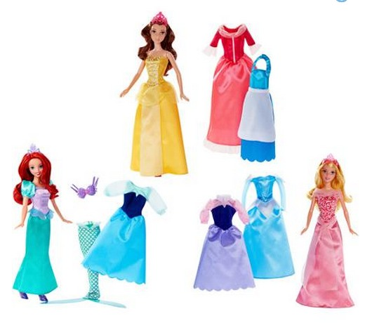 Disney Princess Rags To Riches 12 piece 12 Doll and Dress Set Only $19 Shipped (Reg. $40!)