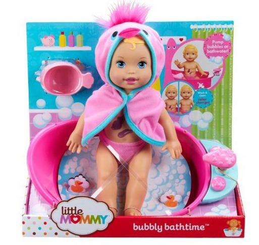 *HOT* Little Mommy Bubbly Bathtime Doll Only $13.95 (Reg. $21.99)!