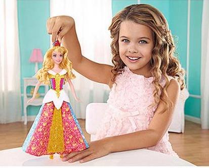 *HOT* Disney MagiClip Dress Aurora ONLY $5 (Reg. $19.97)