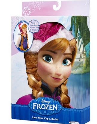 Disney Frozen Annas Snow Cap and Braids Only $5.29 (Reg. $16.99)!