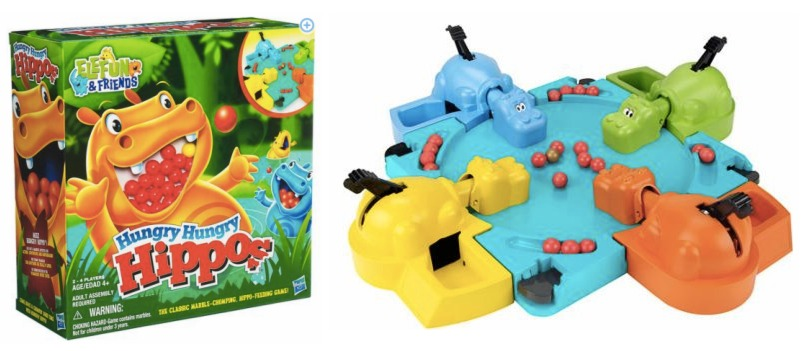 *HOT* Walmart and Target: Hungry Hungry Hippos Game ONLY $2.44 (Reg. $20!)