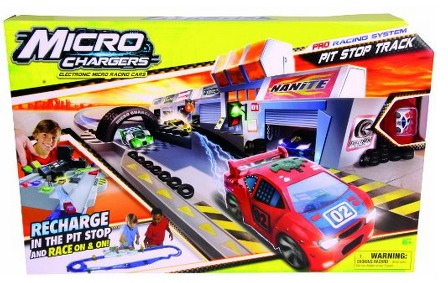 Micro Chargers Pro Racing Pit Stop Track ONLY $11.29 (Reg. $37.99)!