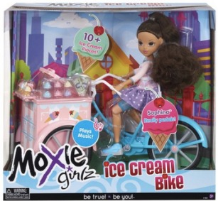 Target: Moxie Girlz Ice Cream Bike ONLY $17.49 (Reg. $34.99)! TODAY ONLY