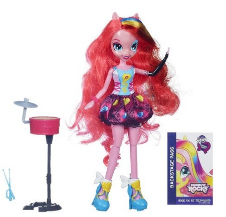 My Little Pony Equestria Girls Singing Pinkie Pie Doll ONLY $8.60 (Reg. $26.99)!