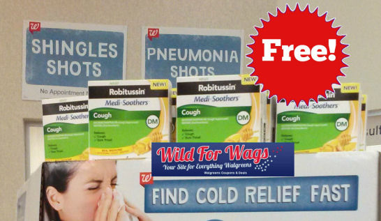 robitussin7 6w Walgreens: FREE Robitussin Medi Soothers