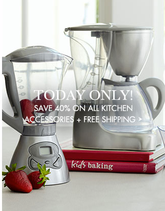 screen shot 2014 12 10 at 1 09 40 pm Pottery Barn Kids: 40% off Kid's Kitchen Accessories (Today Only)