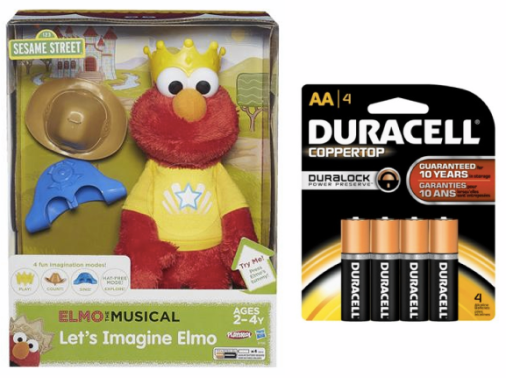 screen shot 2014 12 14 at 8 49 28 am Target & Walmart: Let's Imagine Elmo Toy & Batteries Only $13.99