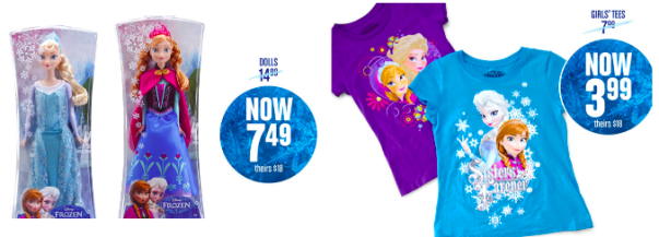 screen shot 2014 12 19 at 9 22 06 am Gordmans: 50% off Frozen Merchandise ~ Items As Low As $1.49 (Today Only)