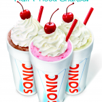 Sonic: Half Price Shakes All Day
