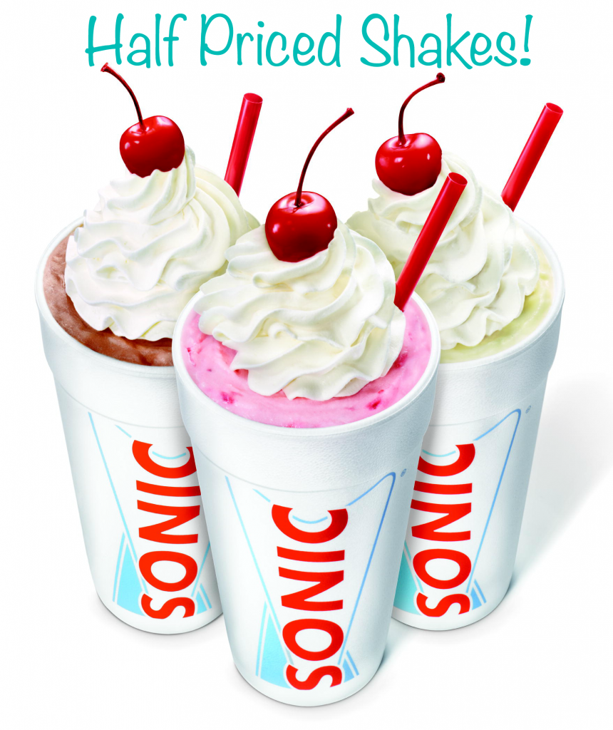 shakes 860x1024 Sonic: Half Price Shakes All Day