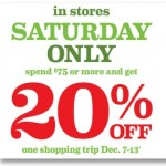 Target: Spend $75+ & Get a 20% Off Shopping Trip Coupon (Today Only)