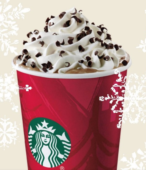 *HOT* Starbucks: HALF off ANY Size Peppermint Mocha!