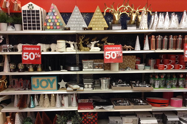 get in your car and hurry over to target where numerous stores have marked their christmas clearance down to 50 off that makes for some amazing deals and - Target Christmas Clearance Schedule