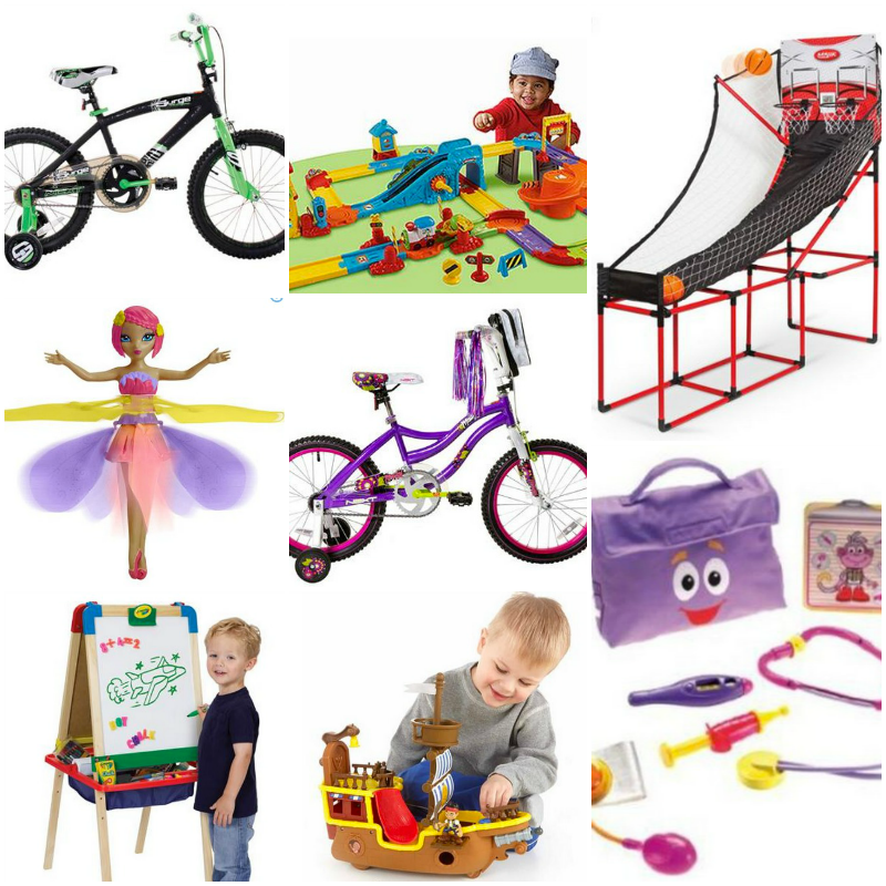 toys22 LOTS of Walmart TOY Deals (Basketball, Bikes, Fairies, Easel and more!) + FREE Shipping!