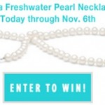 It's a Giveaway: 4 Win Pearl Necklace (Over $100 VALUE each!)