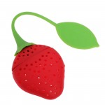 Amazon: Strawberry Silicone Tea Strainer Only $1.76 Shipped