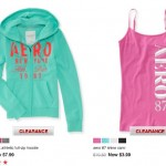 *HOT* Aero: Additional 50% off Clearance = Hoodies Only $3.99 (Reg. $49.50), Cami Tanks Only $1.99 + MORE!