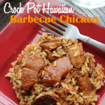 Crock Pot Hawaiian Barbecue Chicken