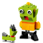 FREE LEGO Alien and Space Dog Mini Model