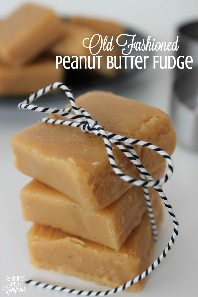 Old Fashioned peanut butter fudge