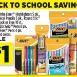 Free Bic Pens, Highlighters and Pencils at Dollar General (Today Only)!