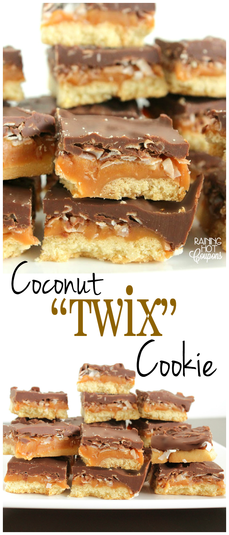 coconut twix cookies