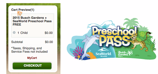 Free Busch Gardens Tampa Seaworld Orlando Pass Florida Residents