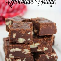 pecan chocolate fudge